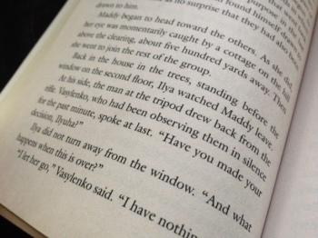 """Ilya did not turn away from the window..."""
