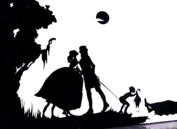 Silhouette by Kara Walker