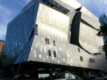 Cooper Union building by Thom Mayne