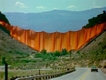 Valley Curtain by Christo