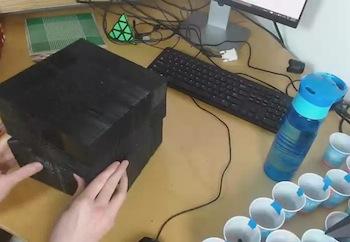 The 22x22 Rubik's Cube