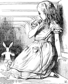 Illustration by John Tenniel for Alice's Adventures in Wonderland
