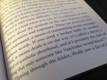 """A kind of symbolic shorthand..."""
