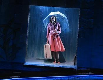 Maria Dizzia in Eurydice by Sarah Ruhl