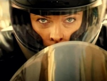 Rebecca Ferguson in Mission: Impossible—Rogue Nation
