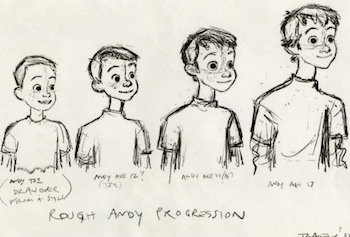 Concept art for Toy Story 3