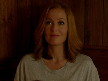 Gillian Anderson on The X-Files