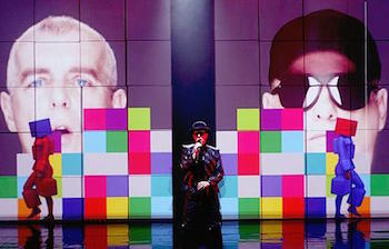 Es Devlin set for the Pet Shop Boys