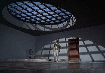 The tarantula room in Dr. No