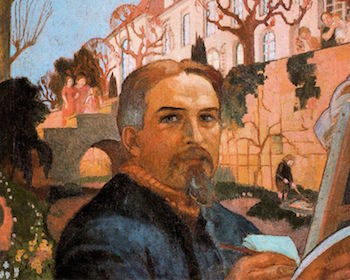 Self-portrait by Maurice Denis
