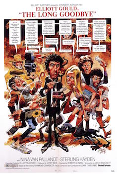 Poster for The Long Goodbye by Jack Davis