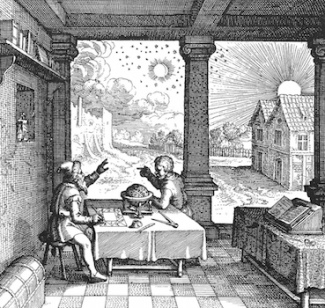 Astrologers in Utriusque cosmi historia