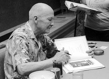 Robert A. Heinlein at MidAmeriCon