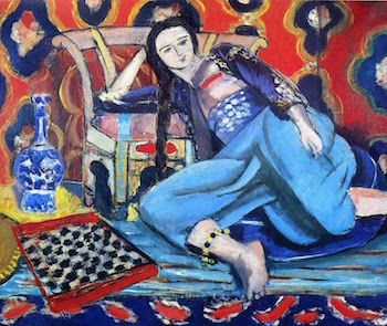 Odalisque With a Turkish Chair by Henri Matisse
