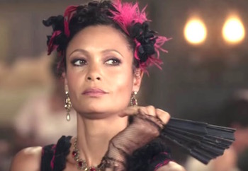 Thandie Newton on Westworld