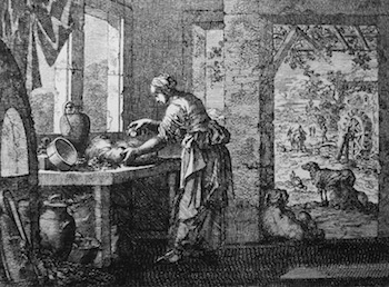 The Parable of the Leaven by Jan Luyken