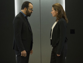 Jeffrey Wright and Sidse Babett Knudsen on Westworld