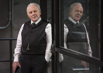 "Anthony Hopkins on ""Westworld"""