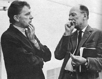 Richard Burton and John Gielgud