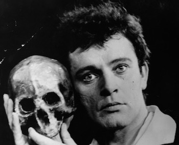 Richard Burton in Hamlet