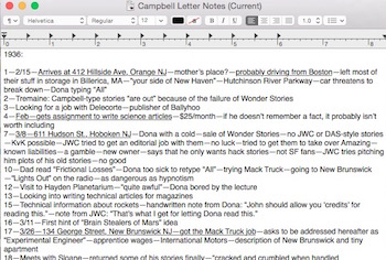Notes in TextEdit