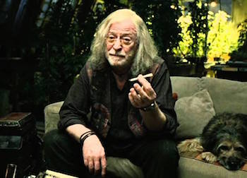 Michael Caine in Children of Men