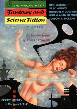 """The Door into Summer"" by Robert A. Heinlein"