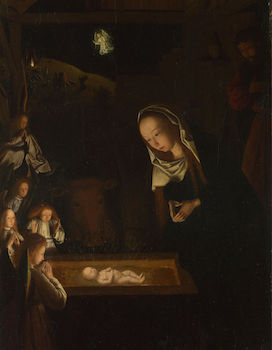 Nativity at Night by Geertgen tot Sint Jans