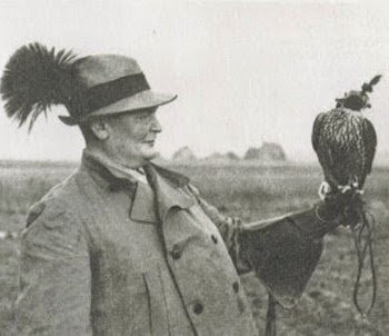 Hermann Göring with falcon