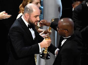 Jordan Horowitz and Barry Jenkins