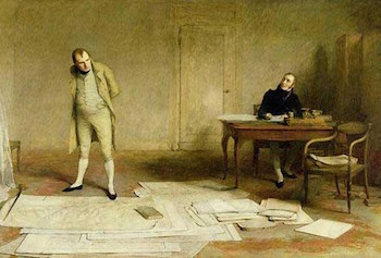 Napoleon Dictating by W.Q. Orchardson